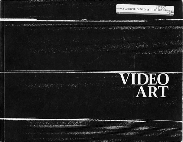 Video Art, January 17 - February 28, 1975 - Excursus IV: Primary Information